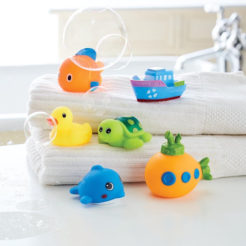 Ocean Friends 2112329 Mud Pie Bath Toy Squirter Set