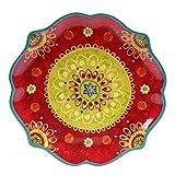 Certified International 22454 Tunisian Sunset Round