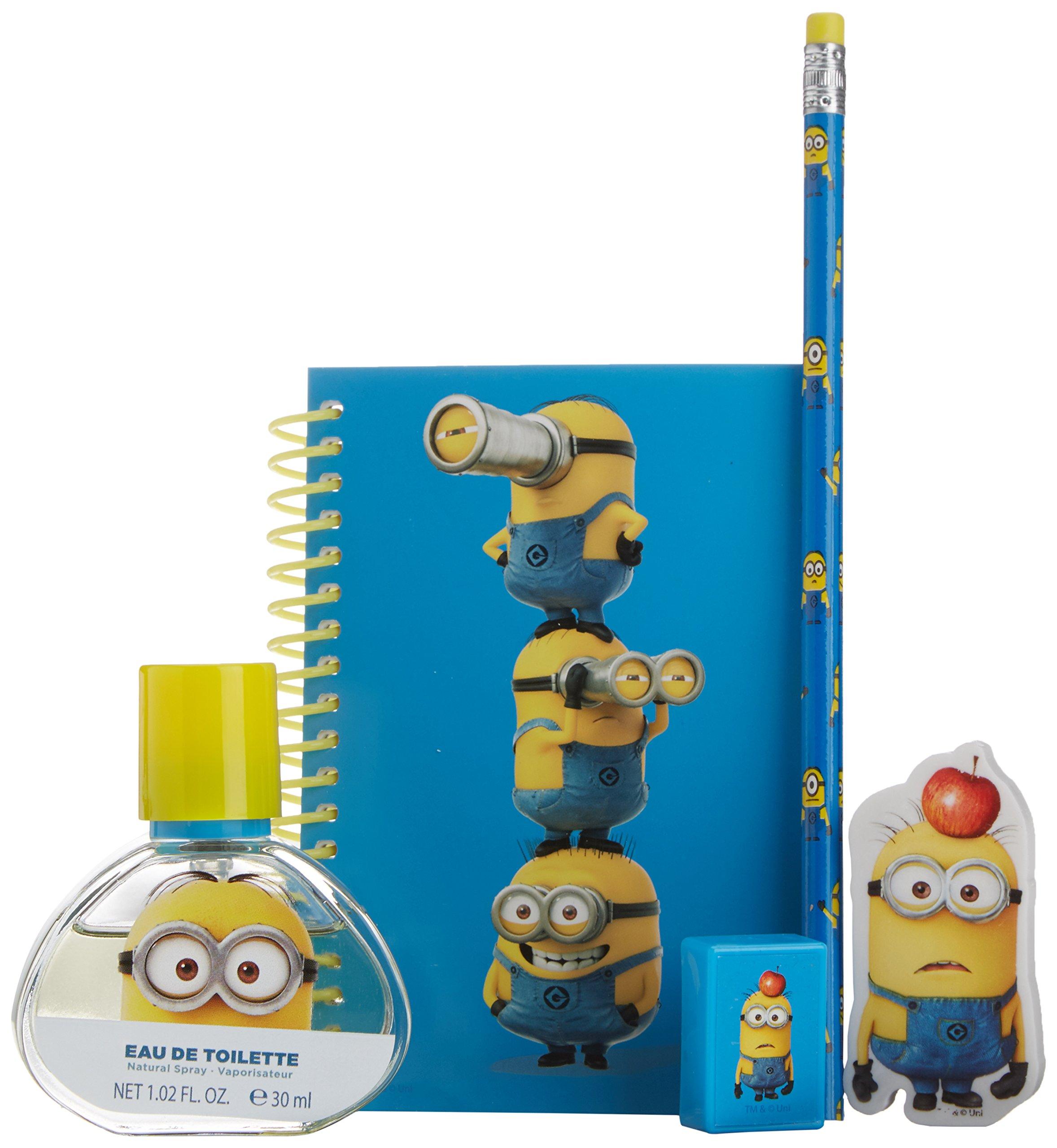 Les Minions - Coffret Eau de Toilette 30 ml + 4 articles de Papeterie product image