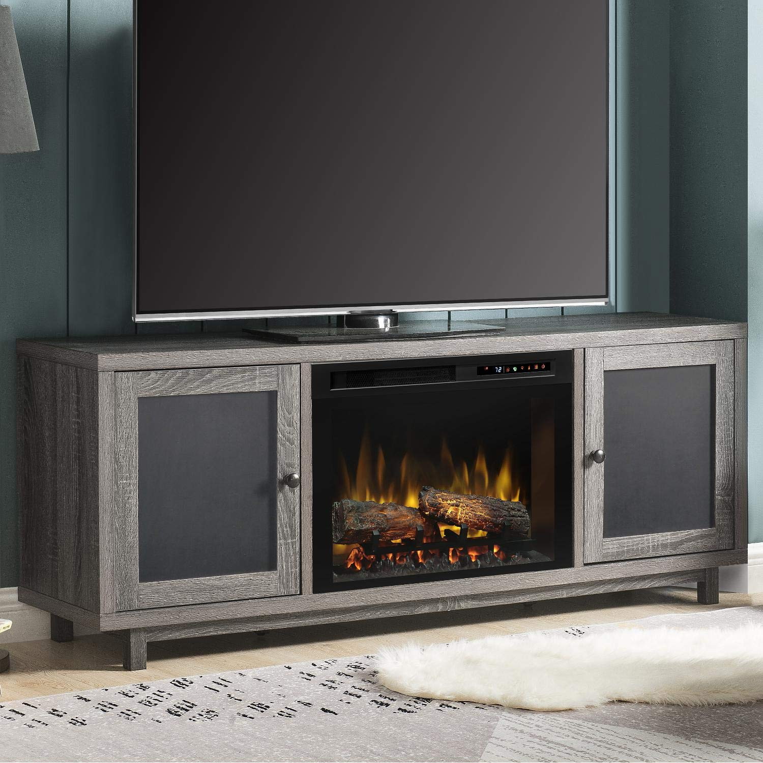Amazon Com Dimplex Electric Fireplace Media Console Tv Stand And
