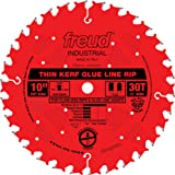 "Freud 10"" x 30T Industrial Thin Kerf Glue Line Ripping Blade (LM75R010)"