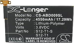 XPS Replacement Battery for a C9R6QM K Fire HDX K Fire HDX 7 a 26S1004-A 58-000043 4550mAh
