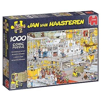Süßigkeitenfabrik Jan van Haasteren Puzzle 500 Teile Spiel Deutsch 2015