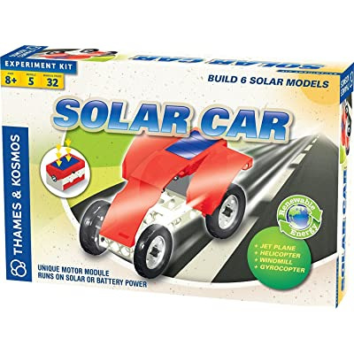 Thames and Kosmos Solar Car Set Science Kit: Toys & Games