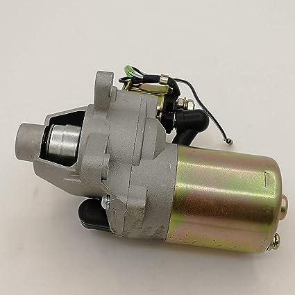 Amazon.com: shiosheng Motor de arranque y solenoide para ...