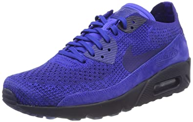 sale retailer 1ee4f 50813 Nike Men's Air Max 90 Ultra 2.0 Flyknit Racer Blue 875943-402 (Size: 9)