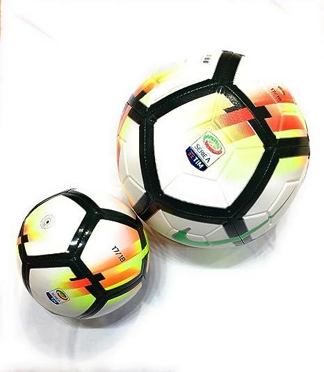 buy online c2587 d6f1b KIT TIFOSO SERIE A Pallone Originale Nike Serie A TIM Strike 2017 2018  TAGLIA 5 +