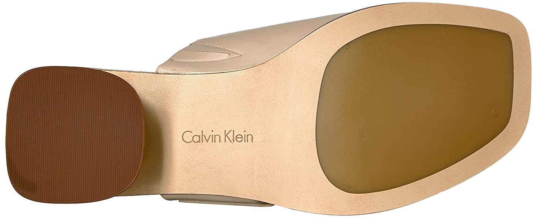3a20804223 Amazon.com | Calvin Klein Women's Aryna Toe Ring Sandal | Sandals