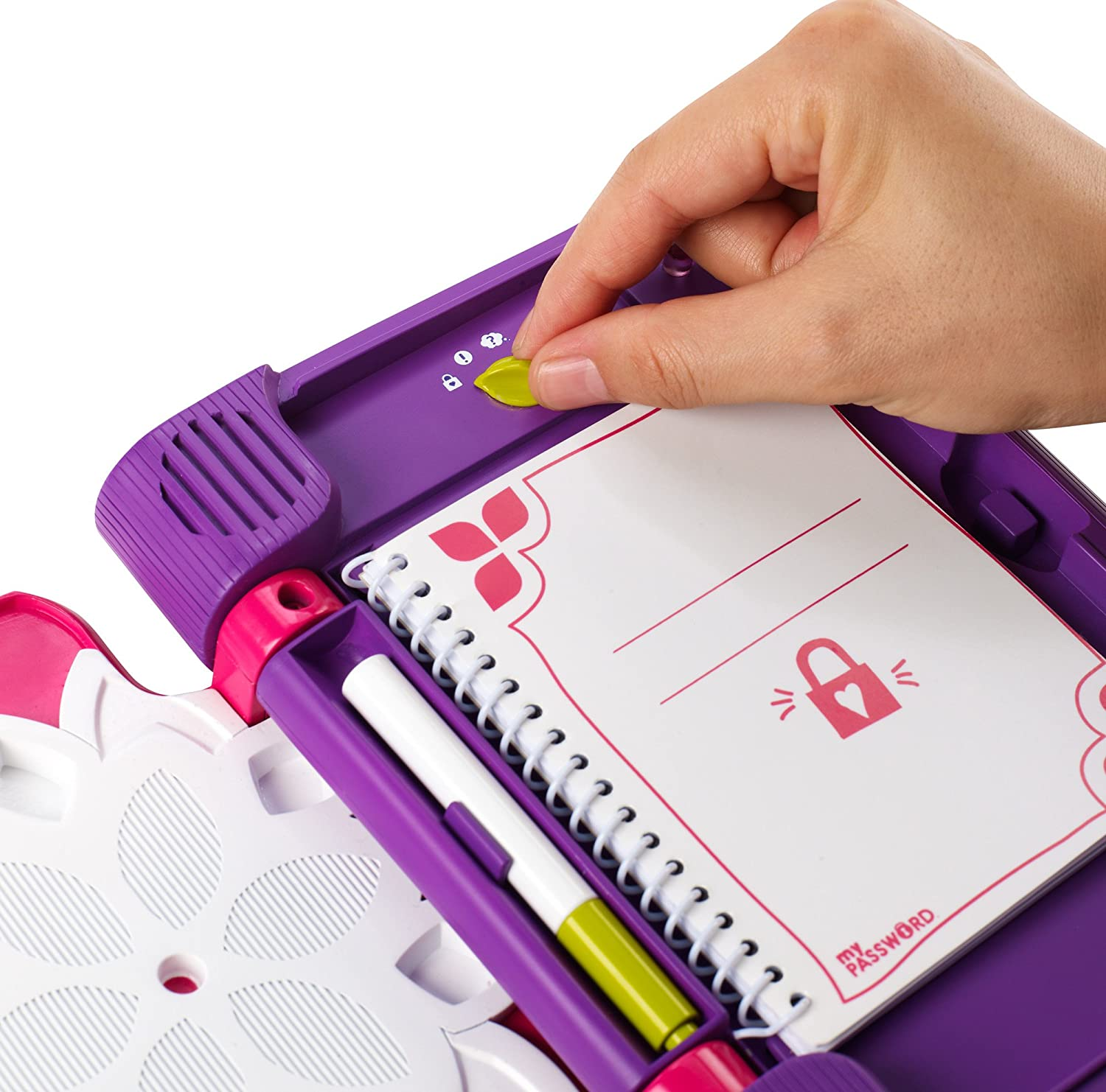 Amazon.es: Password Journal - Diario electrónico con Pluma de Tinta Invisible (Mattel CKT10)