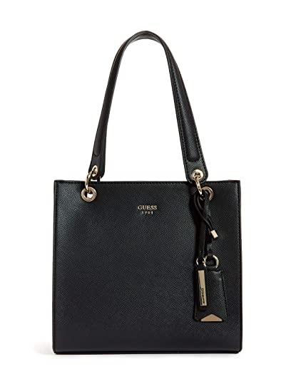 e72ce7f795b Guess Mujer Kamryn Shopper Bolsos de Mano Negro
