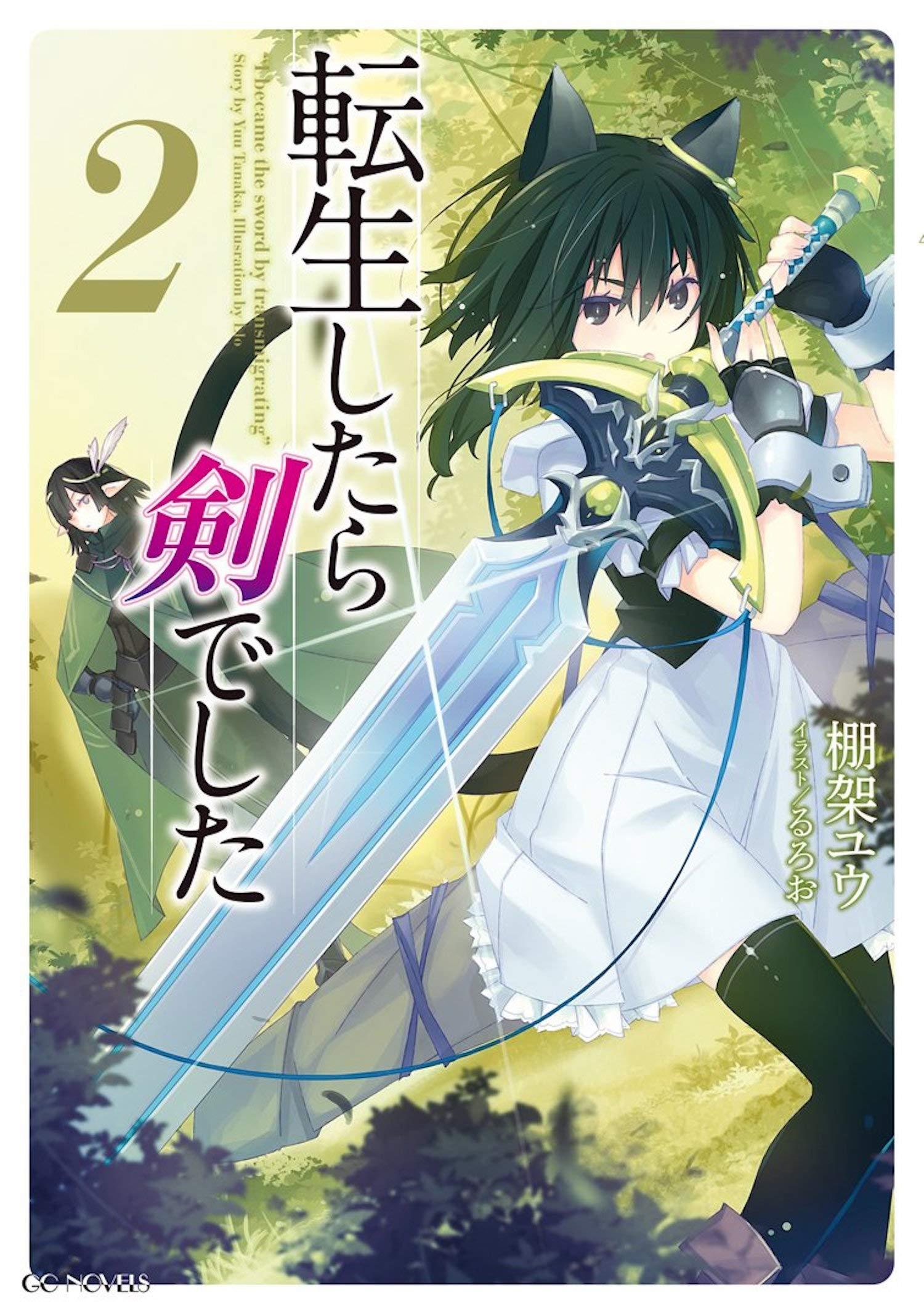 Amazon com: Reincarnated as a Sword (Light Novel) Vol  2