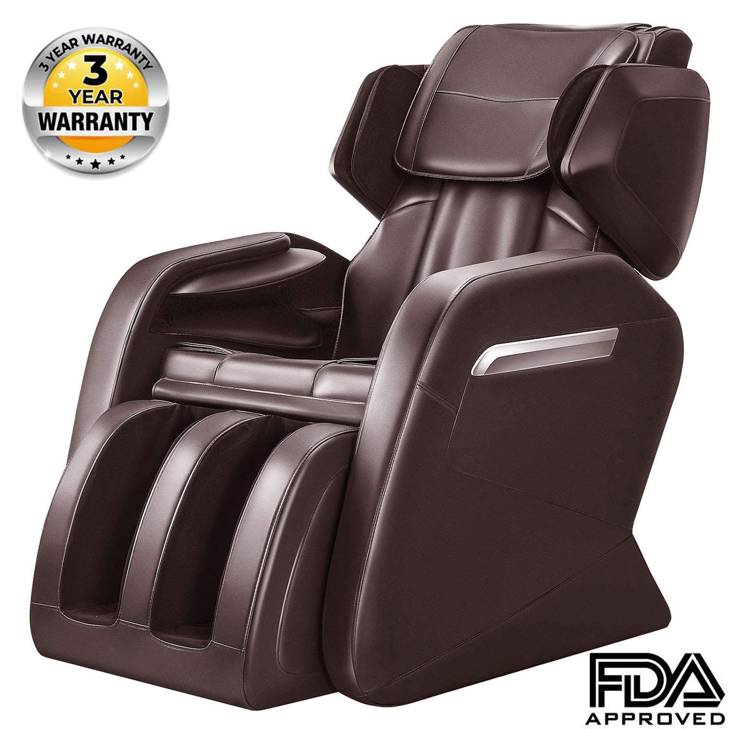 Magnificent Ootori Full Body Massage Chair Zero Gravity Neck Back Legs And Foot Shiatsu Massage Brown Dailytribune Chair Design For Home Dailytribuneorg