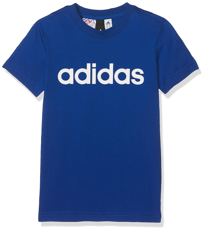 Adidas YB Lin Tee, Maglietta Unisex Bambini