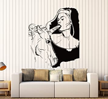 Amazoncom Wall Stickers Vinyl Decal Sexy Decor Girl Teen With - Vinyl stickers for walls