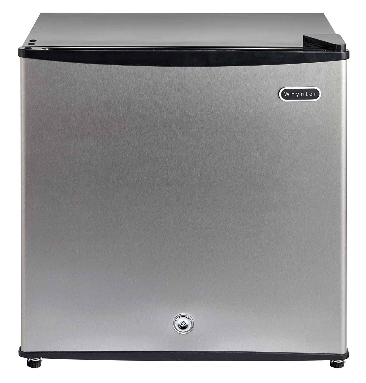 Whynter CUF-110B Energy Star 1.1 Cubic Feet Upright Freezer with Lock, Black Whynter Small Appliances