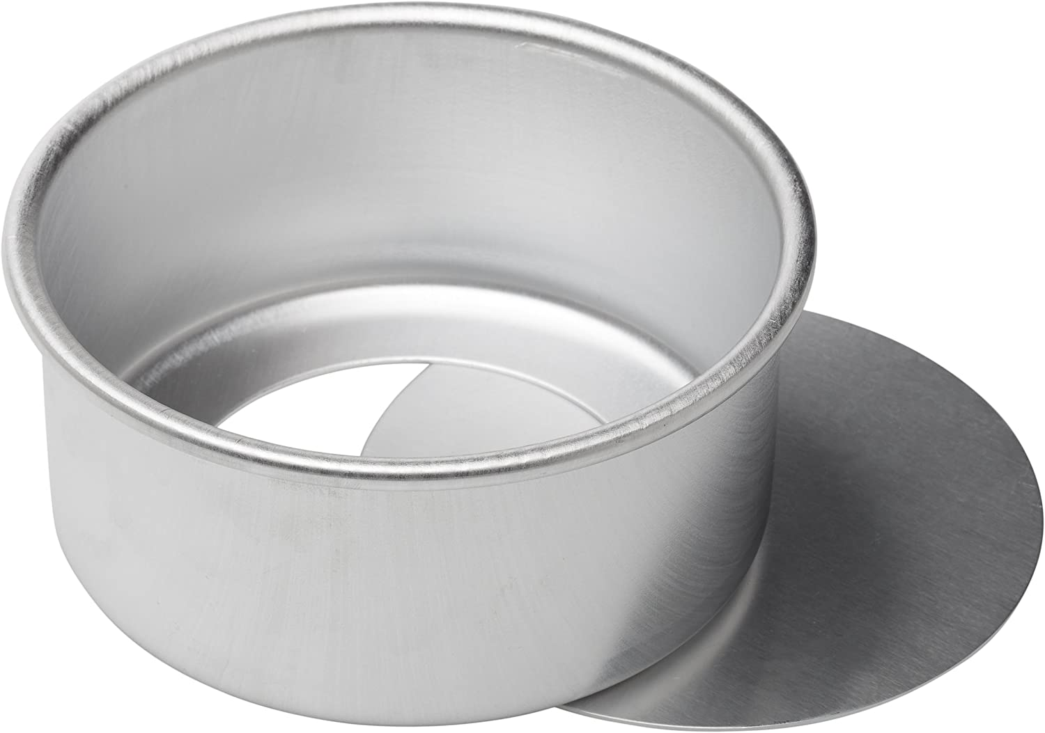 Ateco Aluminum Cake Pan with Removable Bottom 8 by 3-Inch 12083 Round