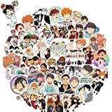 WOCOCO Stickers for Haikyuu Stickers Style, 100 Pcs Anime Stickers, Vinyl Stickers for Hydro Flask Laptop Water Bottle, Water