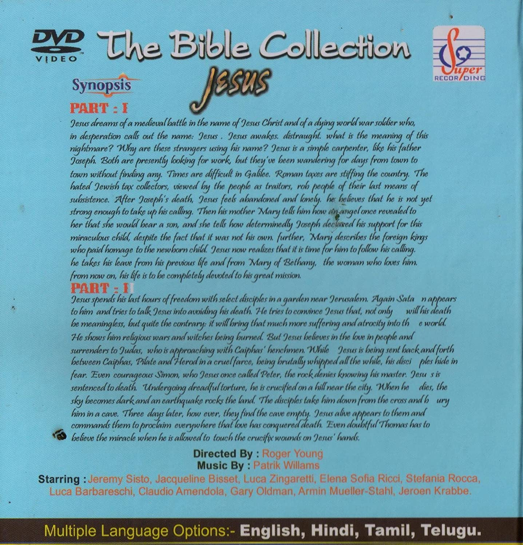 Amazon.in: Buy JESUS ( PART 1 & 2 ) ( TELUGU VERSION) (THE BIBLE ...