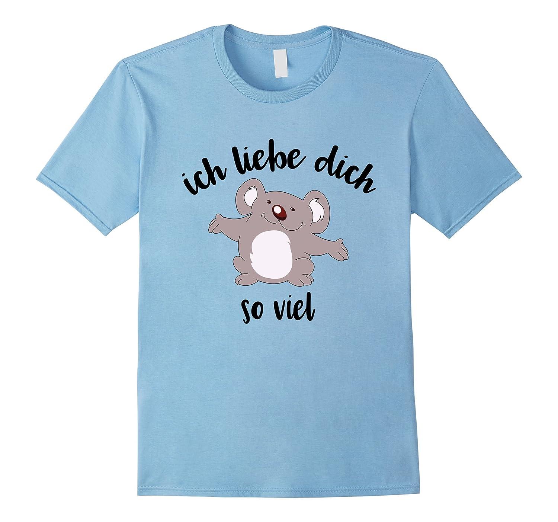 Cute Kids Shirts Ich Liebe Dich Shirt German I Love You-PL