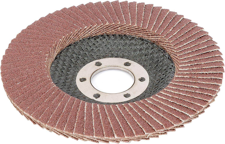 Draper 30745 115mm aluminium oxide flap disc 60 grit