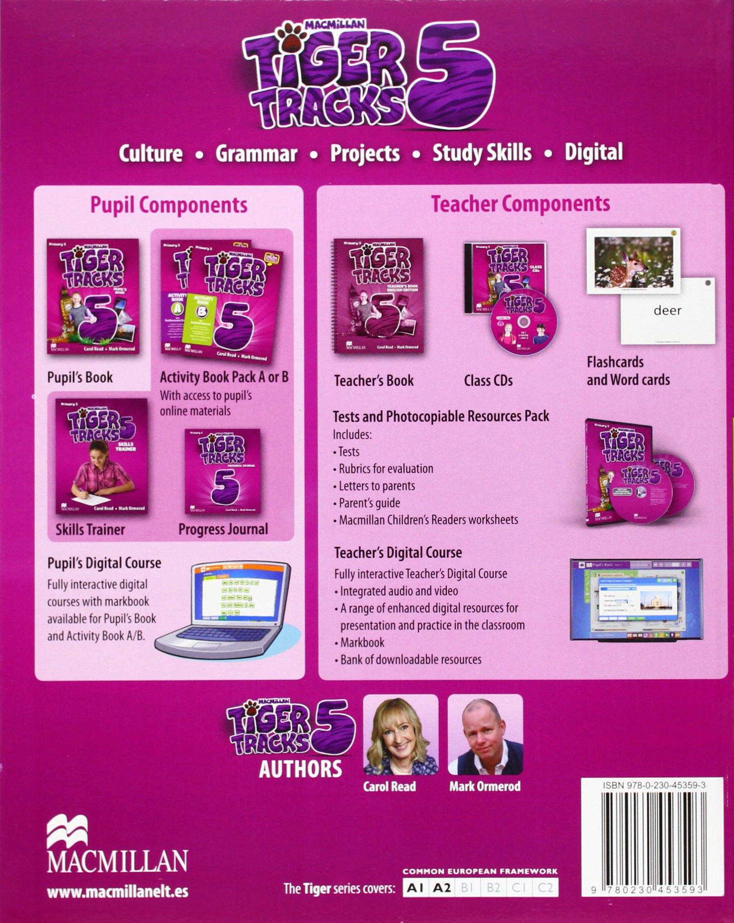 TIGER 5 Ab B Pk - 9780230453630: Amazon.es: Reas, C., Ormerod, M.: Libros en idiomas extranjeros