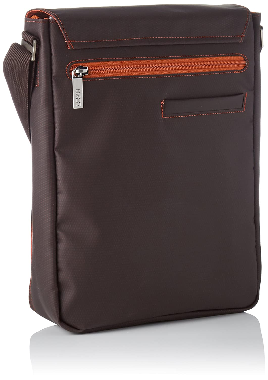 BREE Unisex Adults/' 83880719Messenger Bag Brown Brown mocha