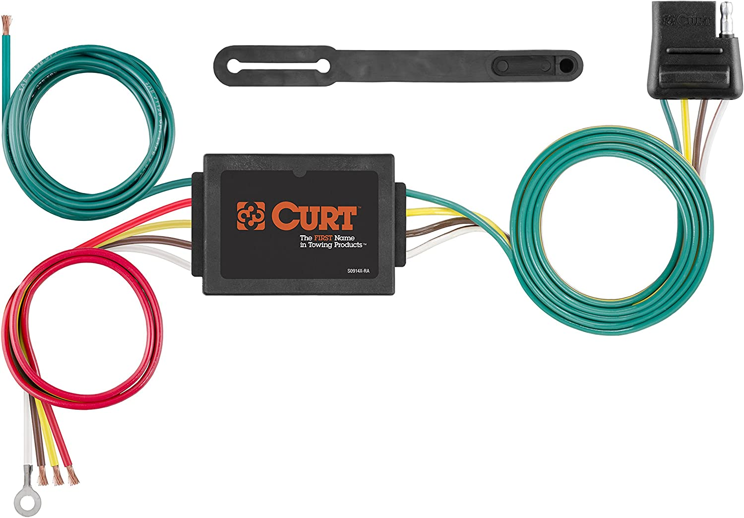 13182 /& 56133 CURT Class 3 Trailer Hitch Bundle with Wiring for 2011-2013 Dodge Durango