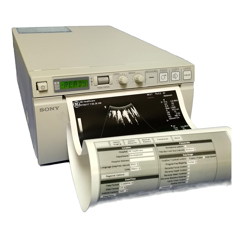 Sony Up-897md Analog Photo Thermal Printer Medical