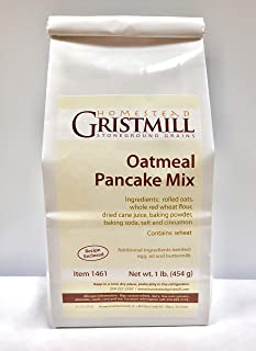 product image for Homestead Gristmill — Non-GMO, Chemical-Free, All-Natural Oatmeal Pancake Mix (2 Pack)