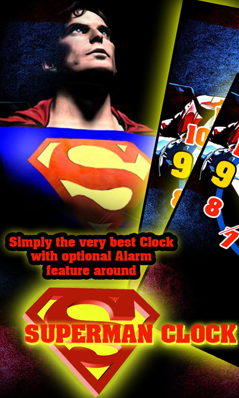 Amazon Superman Clock Live Wallpaper Appstore For Android