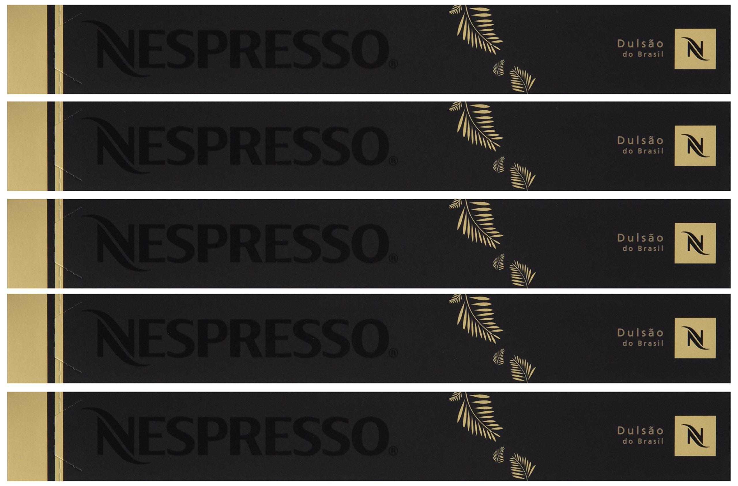 Nespresso Dulsao Do Brasil New, 1 Package (50 Capsules)