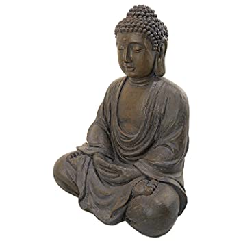 40u0026quot; Asian Buddha Sculpture Statue Figurine