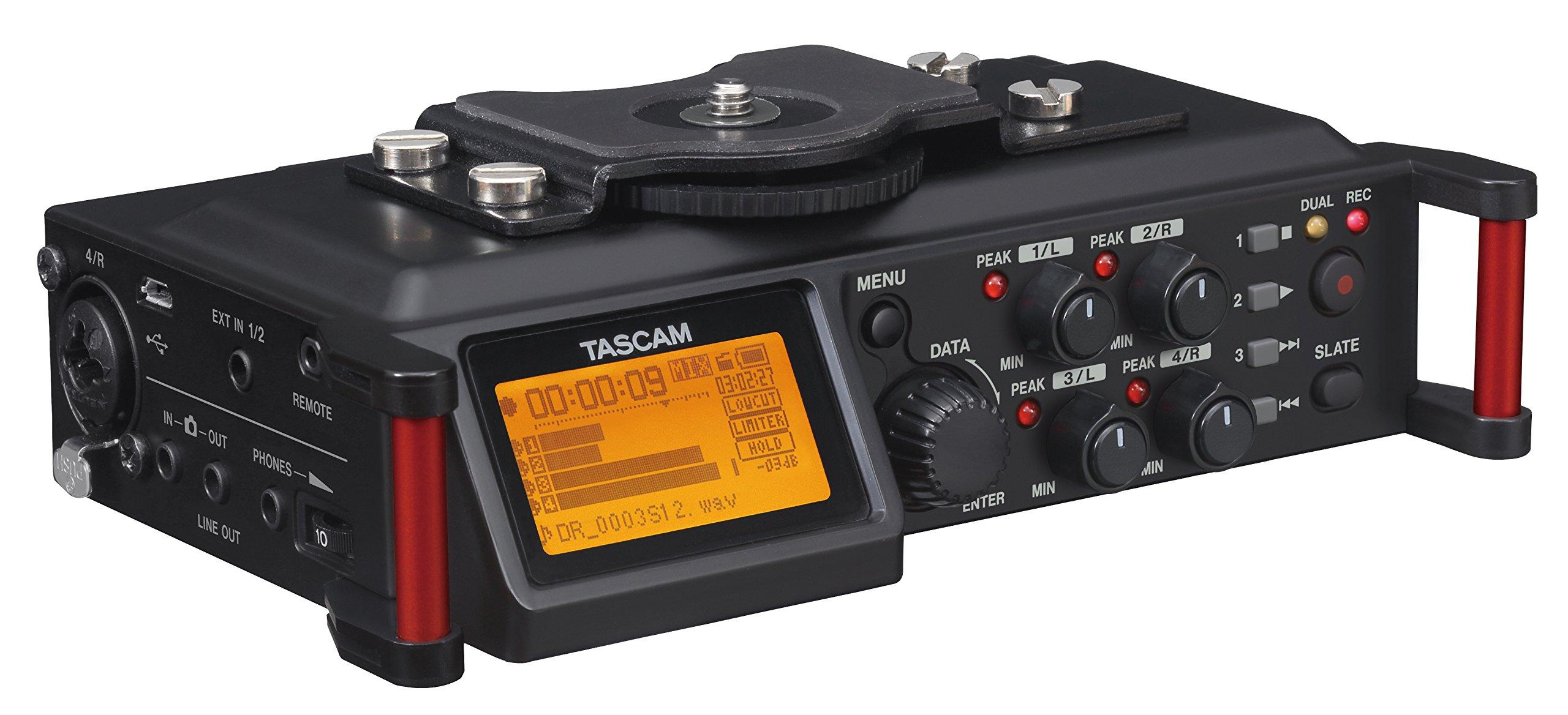 Tascam DR-70D 4-Channel Portable Recorder