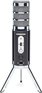 Samson Satellite USB/iOS Broadcast Microphone for Recording, Podcasting and Streaming (SASAT)