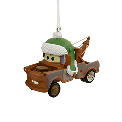 hallmark christmas ornament disney pixar cars mater