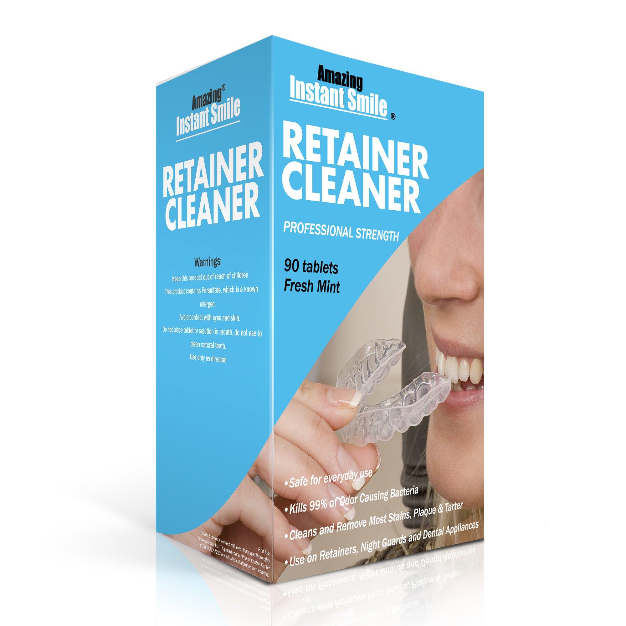 Amazing Instant Smile Professional Retainer Cleaner