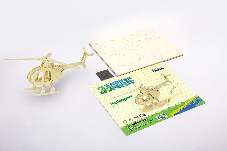 Hands Craft JP265 DIY 3D Wooden Puzzles Octopus