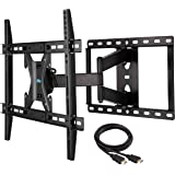 Mounting Dream MD2295 TV Wall Mount Bracket with Full Motion Articulating Arm for most 42-70 Inch LED, LCD and Plasma Flat Screen TV up to VESA 600x400mm and 78 lbs