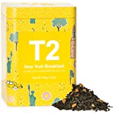 T2 Tea New York Breakfast Breakfast Black Tea, Loose Leaf Tea in Limited Edition Tin, 100g, 100 g