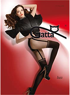 c61f7865d1c57 Gatta Jazz - 01 Fashion sexy Fancy Patterned Tights with Hot Strapsemuster