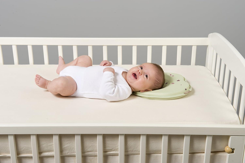 Babymoov Lovenest - Cojín para recién nacidos en tejido ventilado, color verde almendra