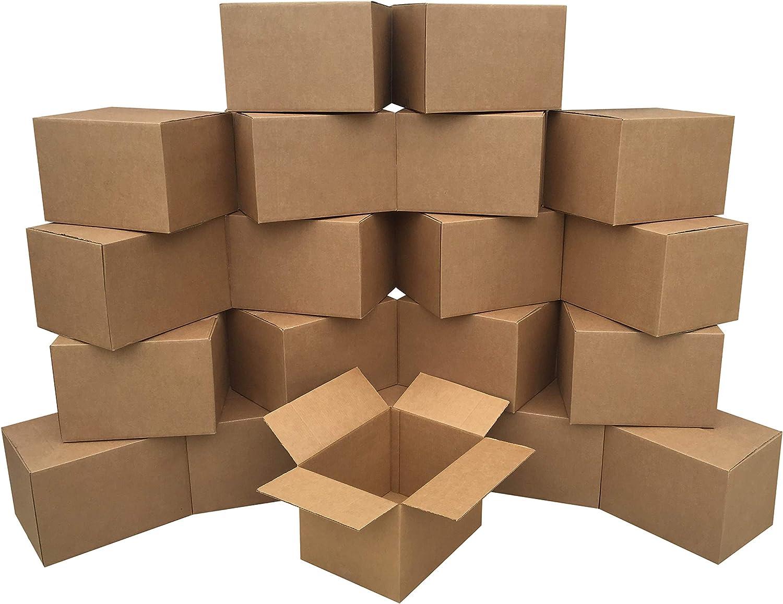 """AmazonBasics Moving Boxes - Medium, 18"""" x 14"""" x 12"""", 20-Pack"""