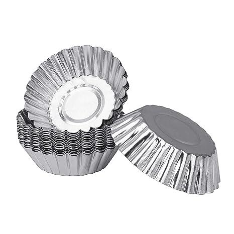 Aluminio Huevo Tarta Fabricantes de Molde Repostería Cupcake Cake Molde de Tarta Latas Para Hornear Herramienta