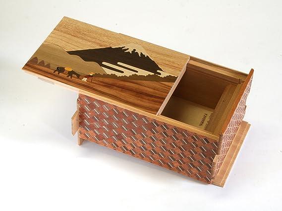 Caja de Rompecabezas Japonesa 21 Pasos Hakone Pass: Amazon.es: Juguetes y juegos