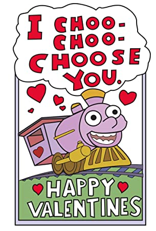 4953885d6265 I Choo Choo Choose You, Funny Valentines Card for Him/Her, The Simpsons