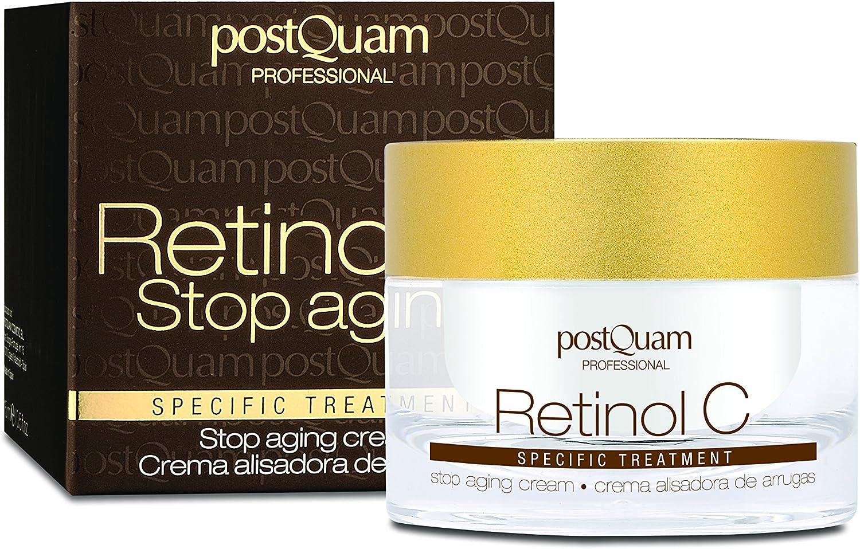 Postquam - Retinol C   Crema Antiarrugas con Retinol y Vitamina C - 50ml