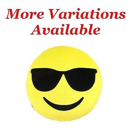 Amazon Emoji Cool Guy Expression Smiley Face Emoticons 9 Round