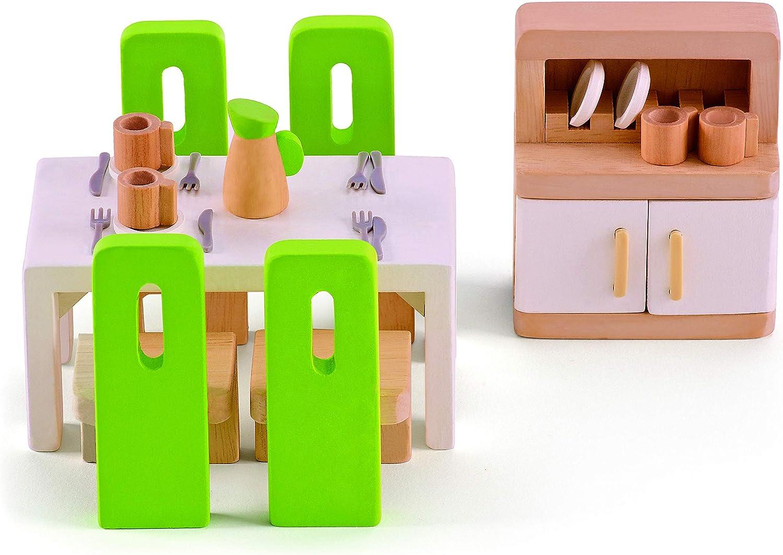 Hape Esszimmer - Hape Puppenhausmöbel