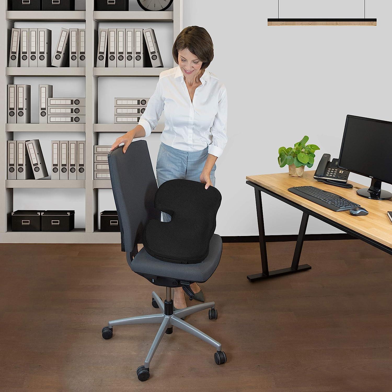 Orthopädisches Sitzkissen für Bürostuhl