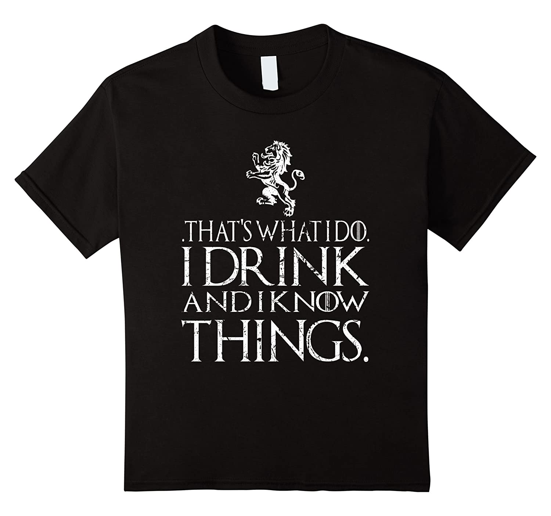 thats drink things t shirt Asphalt-Awarplus